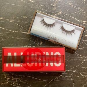 Huda Beauty Bundle Lipstick & Lashes NIB